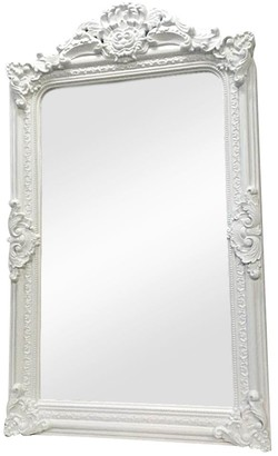 Cafe Lighting Antoinette Floor Mirror White