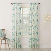 Asstd National Brand Kayla Rod-Pocket Sheer Curtain Panel