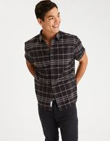 American Eagle Outfitters AE Plaid Short Sleeve Shirt