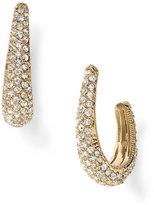 Pavé Hoop Earrings