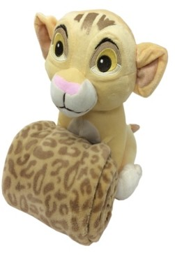 Disney Lion King Simba Plush Toy & Blanket Gift Set Bedding