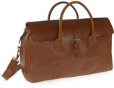 Vida Vida Herbert Women's Luxe Tan Leather Travel Bag