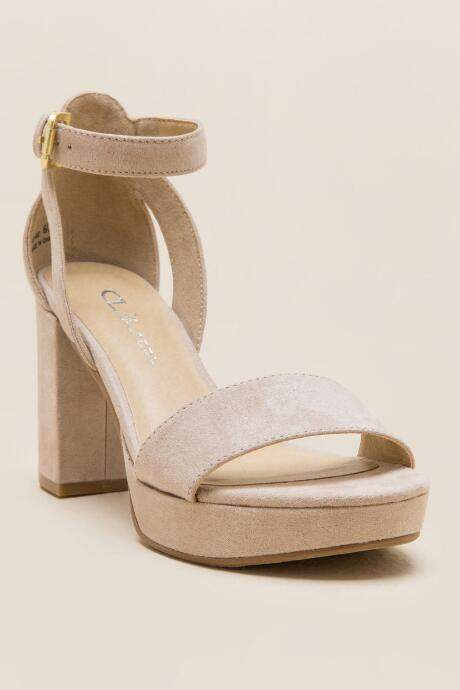 07433f1e561 Cl By Laundry CL by Laundry Go On Platform Heel - Nude