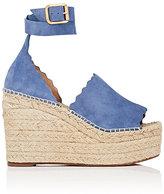 Chloé Women's Lauren Suede Espadrille Sandals