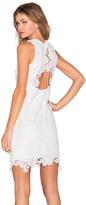 Bardot Rosette Lace Dress