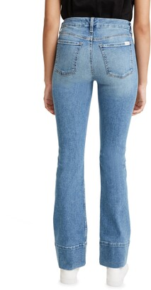 Jen7 by 7 For All Mankind High Hem Slim Bootcut Jeans