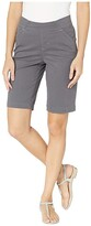 Jag Jeans Gracie Pull-On Bermuda Shorts Twill (Black) Women's Shorts
