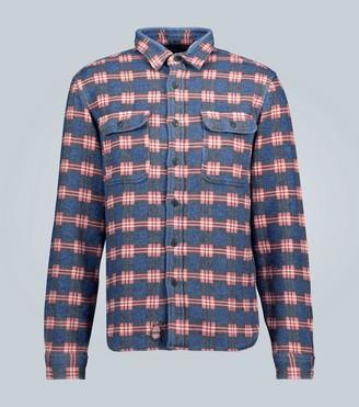 Ralph Lauren RRL Checked cotton overshirt