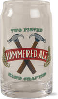 Tag Hammered Ale Can Glass