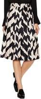 Salvatore Ferragamo Women's Silk Colorblocked A-Line Skirt