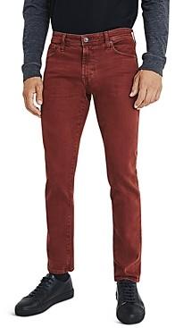 AG Jeans Tellis Slim Fit Jeans in 7 years Sulfur Rich Crimson