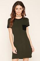 Forever 21 Pocket Ringer T-Shirt Dress