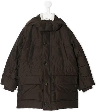 Dolce & Gabbana Kids Padded Button-Front Jacket