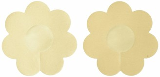 The Natural Women's Plus Size Satin Nipple Covers-Full Coverage