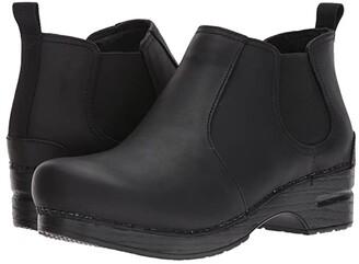 Dansko Frankie (Black Oiled) Women's Shoes