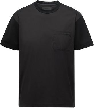 Prada ombre print short-sleeve T-shirt