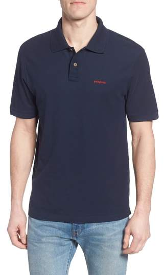 Patagonia Men's Belwe Relaxed Fit Pique Polo
