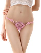 Baishitop Womens Jacquard Sexy Lace G-string Ladies T-back