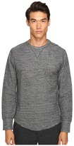 Todd Snyder Heather Double Knit Long Sleeve Men's T Shirt