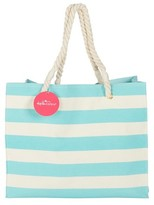 Kate Aspen Striped Cabana Tote bag with Rope Handles