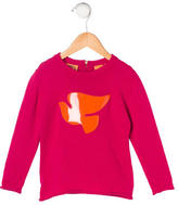Tory Burch Girls' Embellished Wool Sweater