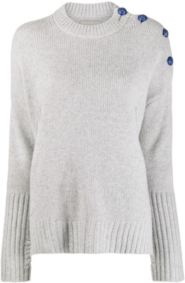 Zadig & Voltaire Shoulder Button Jumper
