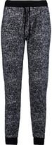 Splendid Printed Stretch-Cotton Tapered Pants