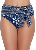 Bleu Rod Beattie Take A Dip High-Waist Bikini Bottom
