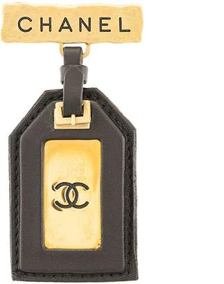 Chanel Pre-Owned CC logo brooch