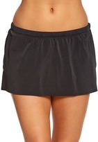 Longitude Solid Skirted Bikini Bottom 8150532