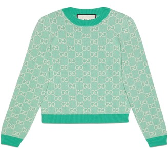 Gucci GG cotton wool piquet sweater