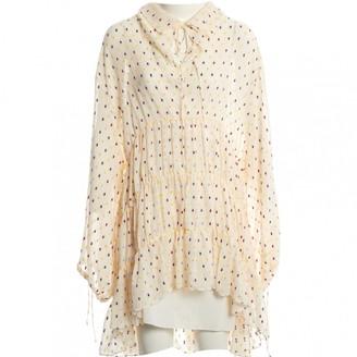 Mulberry Ecru Silk Dress for Women