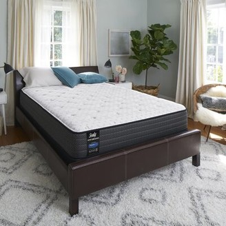 "Sealy Response Performance 12"" Medium Innerspring Mattress Mattress Size: Twin, Box Spring Height: Low Profile (5"")"