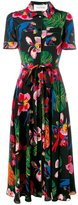 Valentino Tropical Dream dress - women - Silk - 40