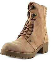 G by Guess Meara Women Round Toe Synthetic Tan Ankle Boot.