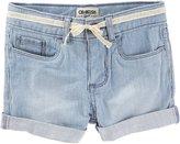 Osh Kosh Ozark Blue Wash Shorts - Denim - 2T