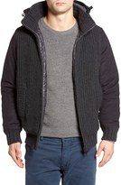 Herno Men's Hooded Bomber Jacket