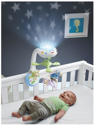 Fisher-Price Butterfly Dreams 3-in-1 Projection Baby Mobile
