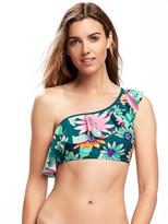 Old Navy One-Shoulder Ruffled Bikini Top for Women
