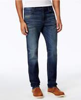 William Rast Men's Straight-Leg Hixon Indigo Jeans