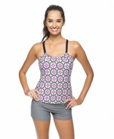 Next Weekend Warrior Third Eye Shirr Tankini