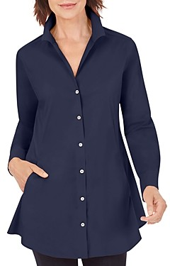 Foxcroft Cecila Button Front Non Iron Shirt