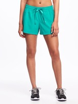 Old Navy Go-Dry Woven All-Day Performance Shorts for Women