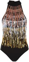 Jaded London **Sequin Fringed Body