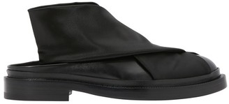Jil Sander Elastic satin sandals