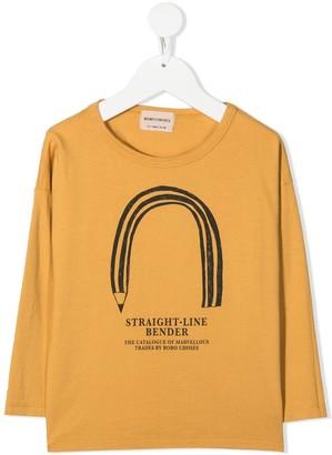 Bobo Choses Straight Line Bender long-sleeved top
