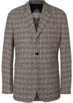 Maison Margiela Linen-Blend Tweed Blazer