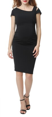 Kimi and Kai Mila Body-Con Maternity Sheath Dress