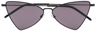 Saint Laurent Eyewear Triangular-Frame Sunglasses