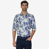 Nautica Tailored Fit Palm Print Shirt